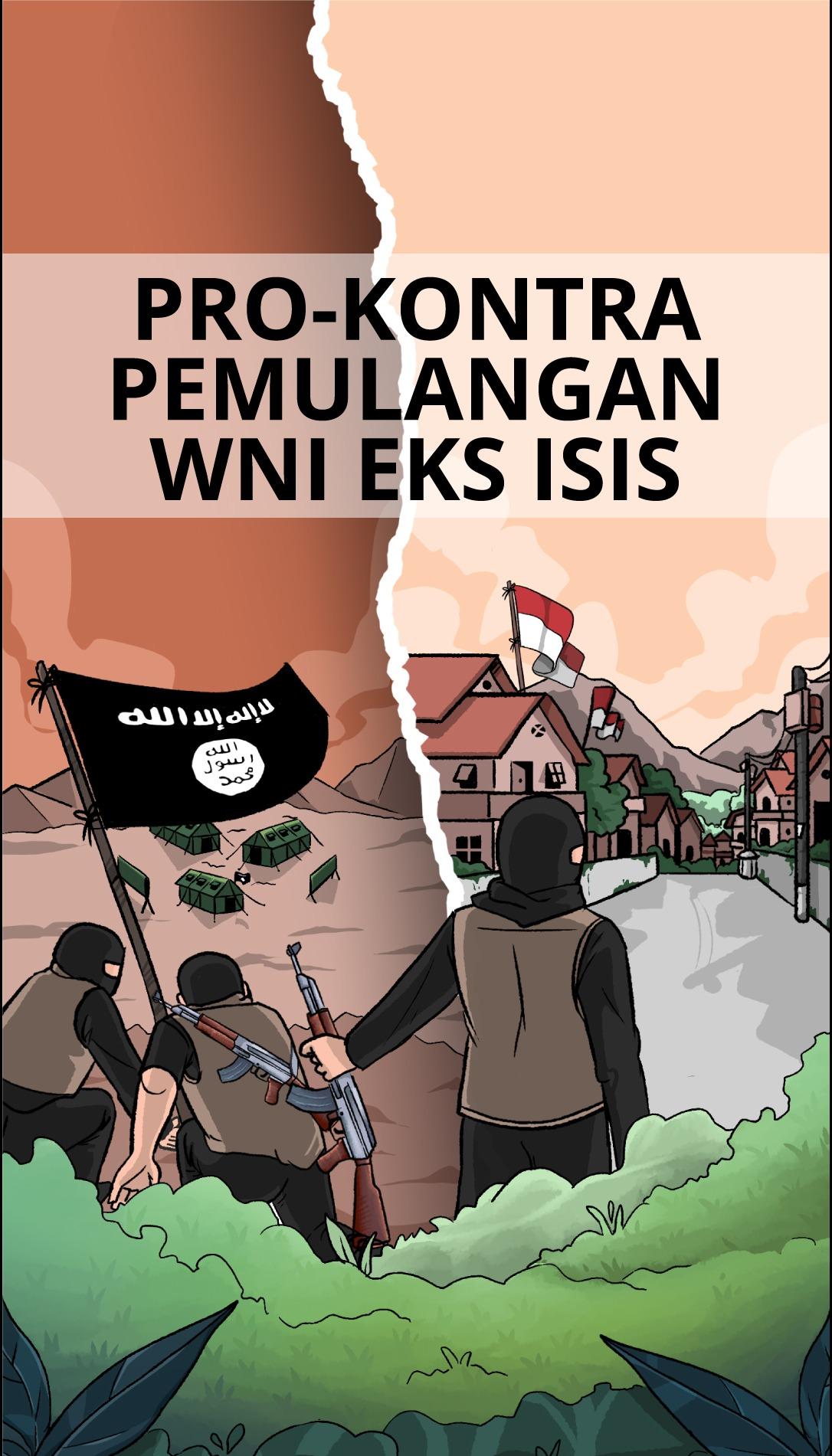 Pro-Kontra Pemulangan WNI Eks ISIS