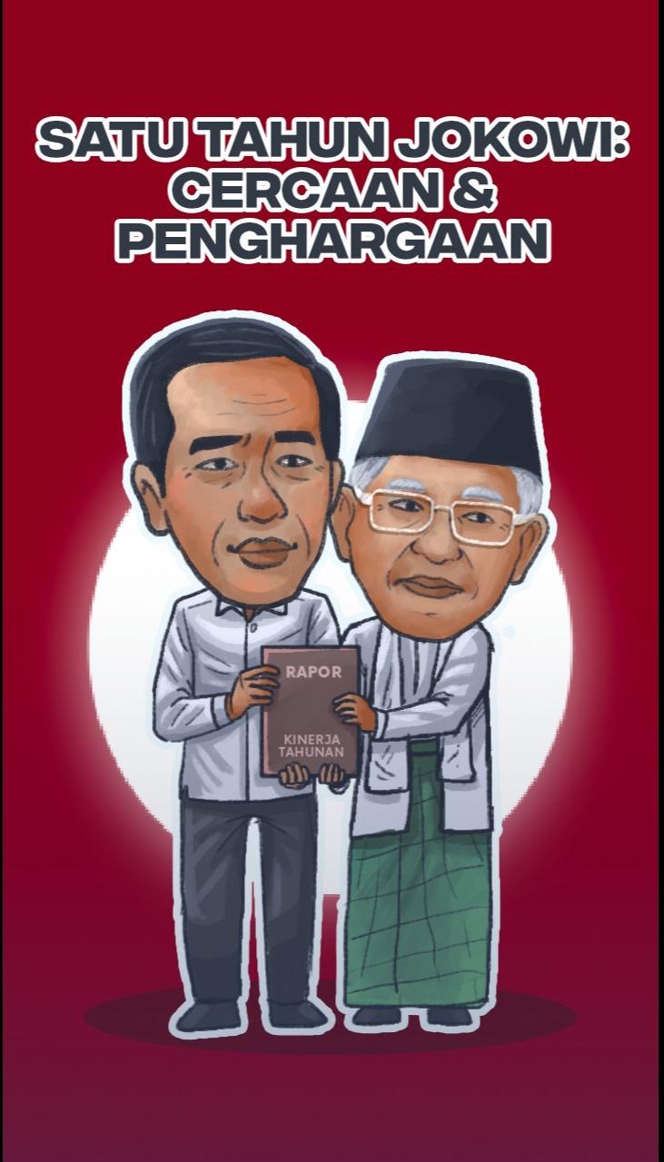 Satu Tahun Jokowi: Cercaan dan Penghargaan