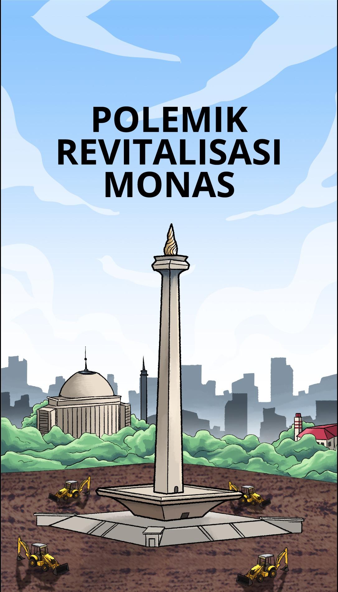 Polemik Revitalisasi Monas 2
