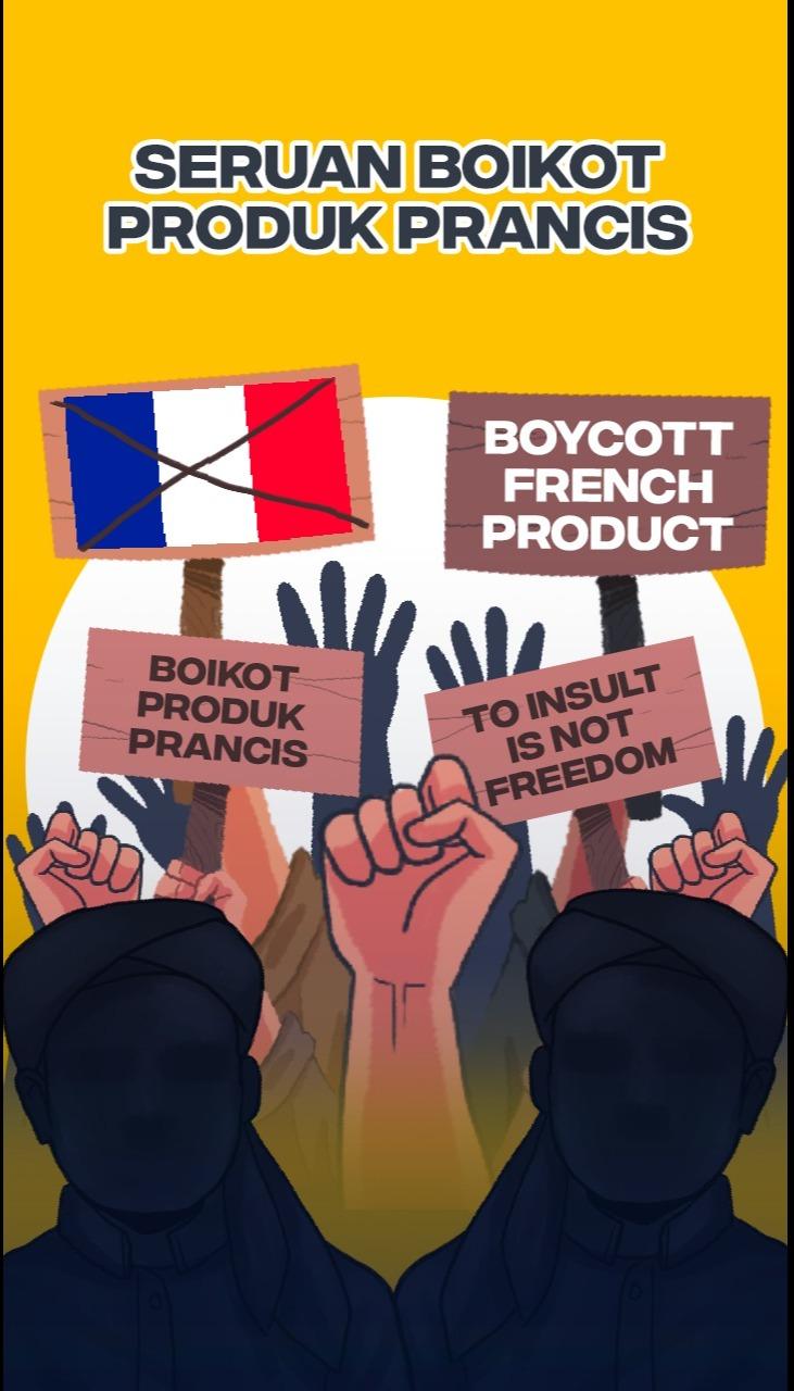 Seruan Untuk Boikot Produk Perancis
