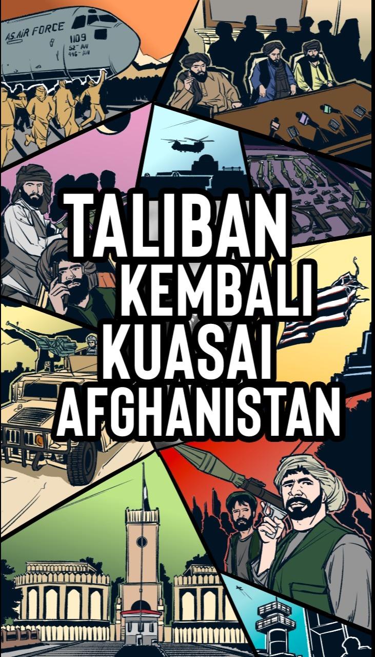 20 Tahun Invasi AS, Taliban Kembali Kuasai Afghanistan