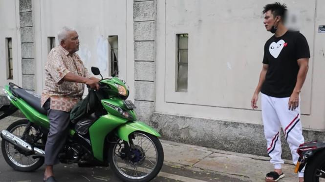 Baim Wong Jelaskan Duduk Perkara Marahin Seorang Kakek, Awalnya Tidak Seperti yang di Rekam Kamera